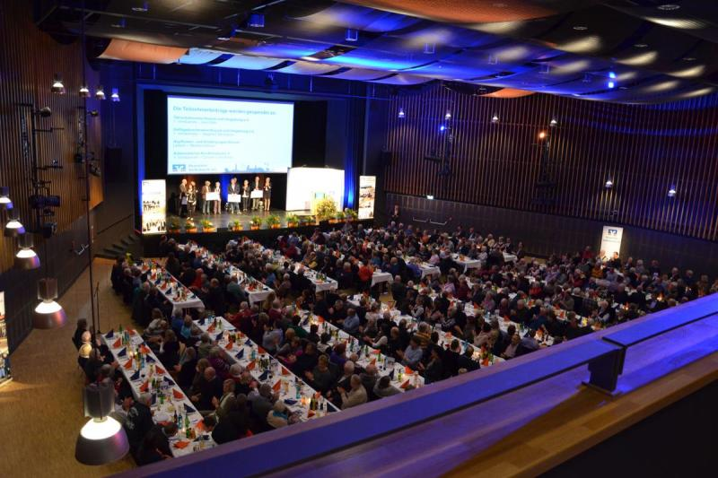 Volksbank-Tagung im Husumer Kongresszentrum | © Messe Husum & Congress