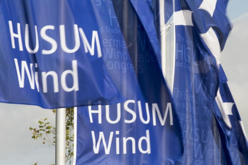 Flaggen der HUSUM Wind | © Messe Husum & Congress