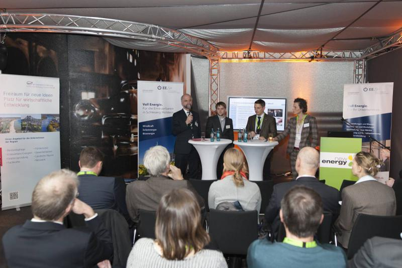 Workshop bei der New Energy Husum | © Messe Husum & Congress