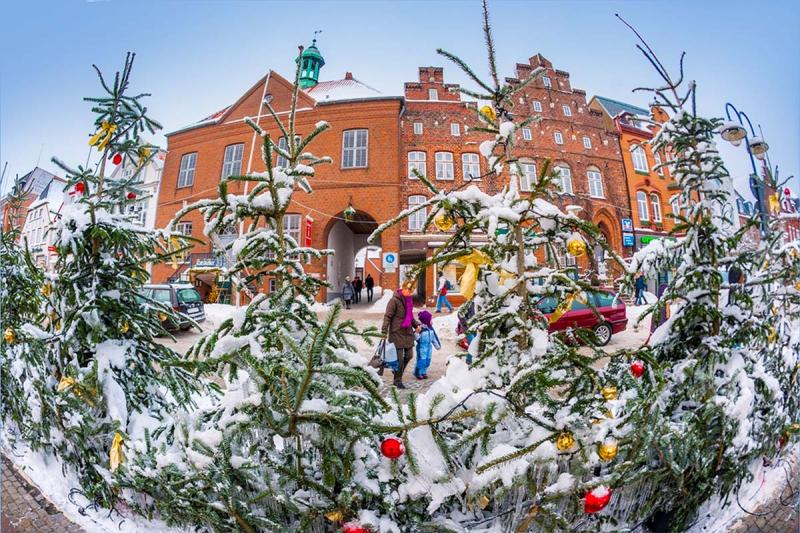 Advent in Husum, Altes Rathaus | © Foto Oliver Franke